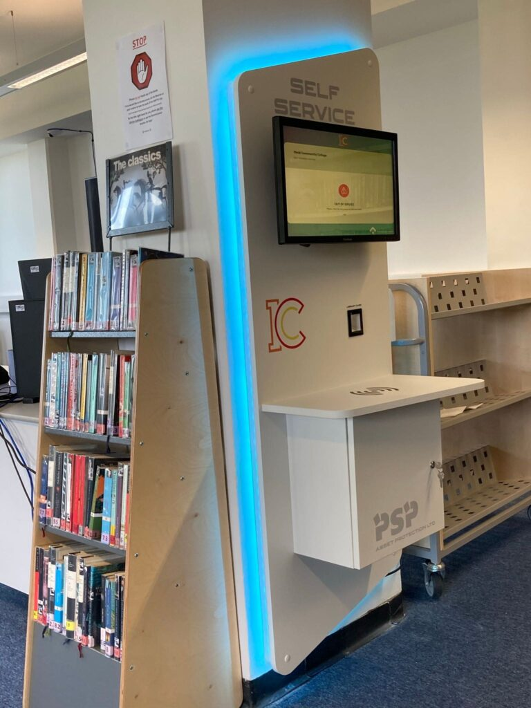 Why your library NEEDS self service machines.